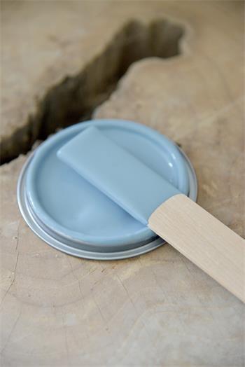 blå maling til træ