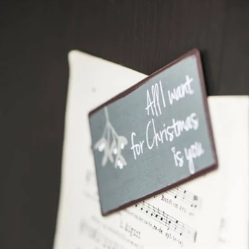 "Magnet 5x10 cm - ""All I want for Christmas is you"""