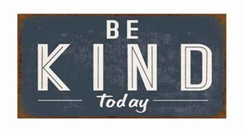 "Magnet 5x10 cm - ""Be Kind today"""