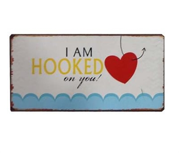 "Magnet 5x10 cm - ""I am hooked in you"""