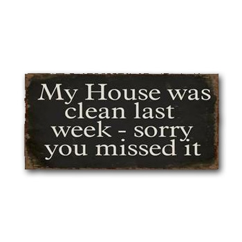 "Magnet 5x10 cm - ""My House was..."""