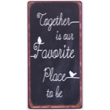"Magnet 5x10 cm - ""Together is our...."""