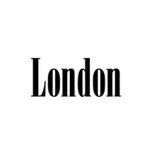 Wallsticker 'LONDON''